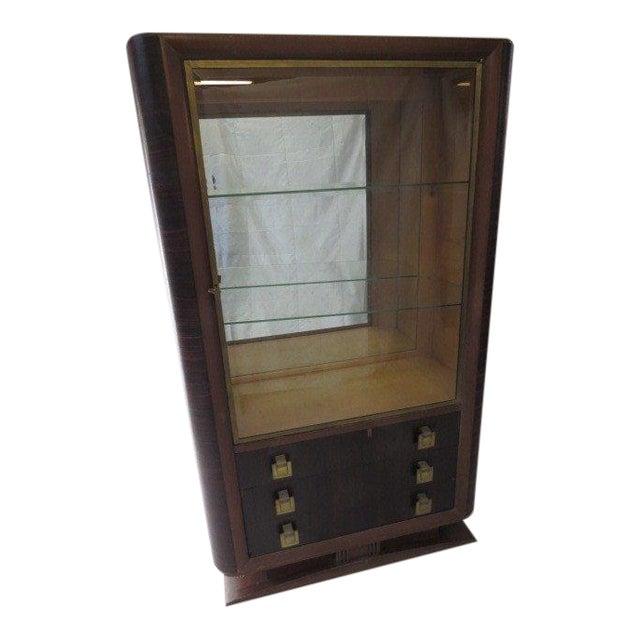 Art deco vitrine chairish for Decoration vitrine