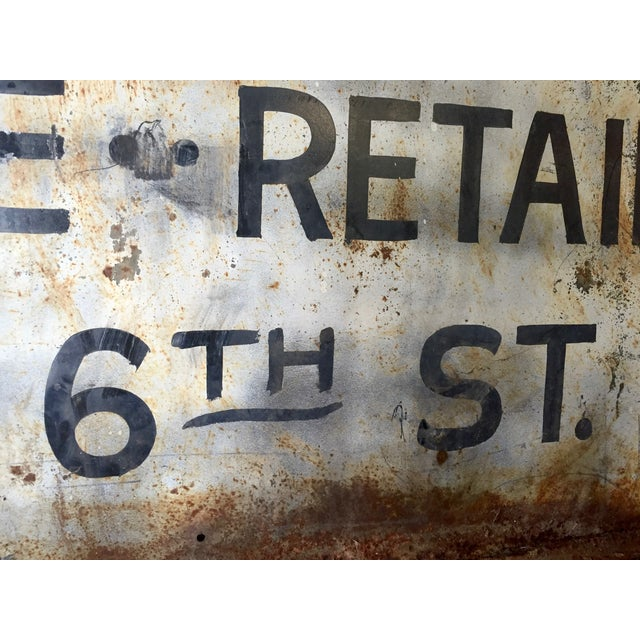 Vintage Auto Trade Sign - Image 11 of 11