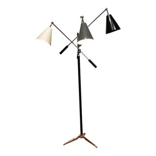 Angelo Lelli 'Triennale' Floor Lamp for Arredoluce For Sale