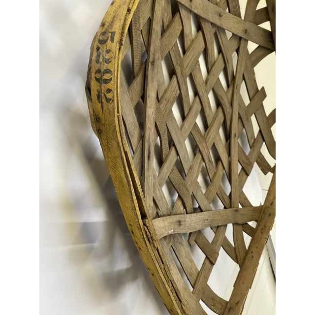 Large Authentic Antique Tobacco Basket For Sale In Atlanta - Image 6 of 12