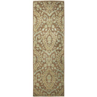 "Synchrony, Eclectic Area Rug - 3' 1"" X 9' 7"""