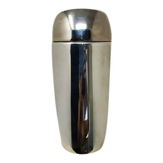 1960s Italian Space Age Silver Plated Shaker For Sale