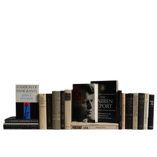 A Toast to the Kennedy's: Vintage Book Set, S/20 For Sale