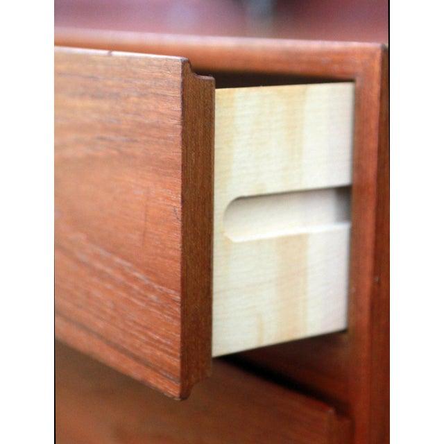 Danish Modern Teak Long Dresser by Arne Iversen for Vinde Mobelfabrik - Image 9 of 11