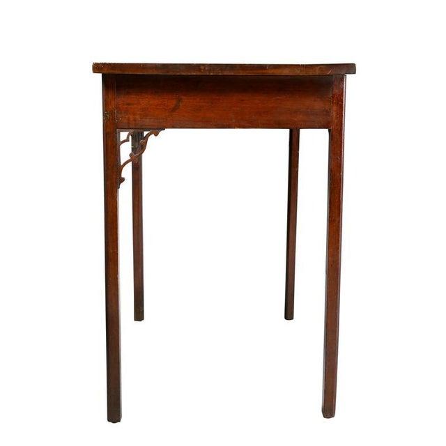 Mahogany George III Mahogany Side Table For Sale - Image 7 of 9
