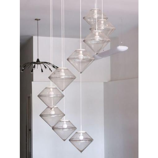 Contemporary Monumental Nine Tier Chandelier by RAAK For Sale - Image 3 of 10