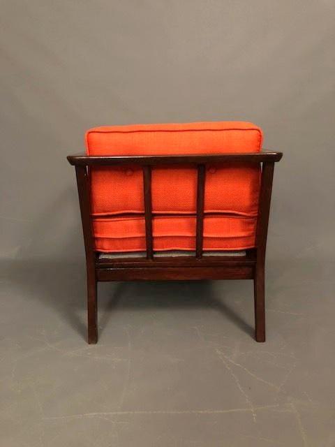 Mid Century Restored Danish Armchair For Sale   Image 5 Of 9