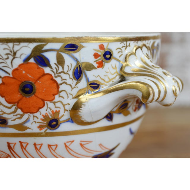 19th Century Crown Derby Old Japan Footed Bowl - Image 7 of 10