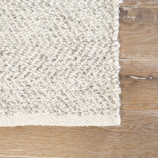 Contemporary Jaipur Living Norden Handmade Chevron Area Rug - 2′ × 3′ For Sale - Image 3 of 6