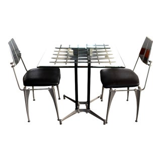1970s Robert Josten Table & Chairs - Set of 3 For Sale