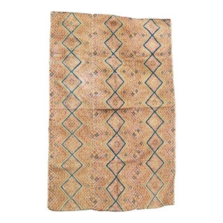 Antique Dong Tribe Shimmering Silk Quilt For Sale