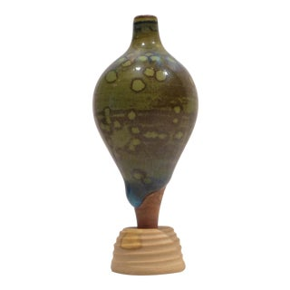 Miniature Terra Spirea Farsta Vase by Wilhelm Kage For Sale