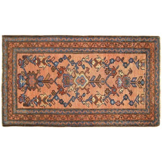 1920s Antique Persian Hamadan Oriental Rug - 2′2″ × 4′4″ For Sale
