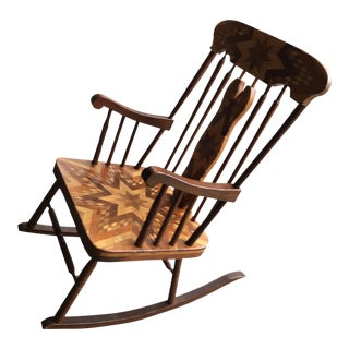 Handmade American Rocking Chair