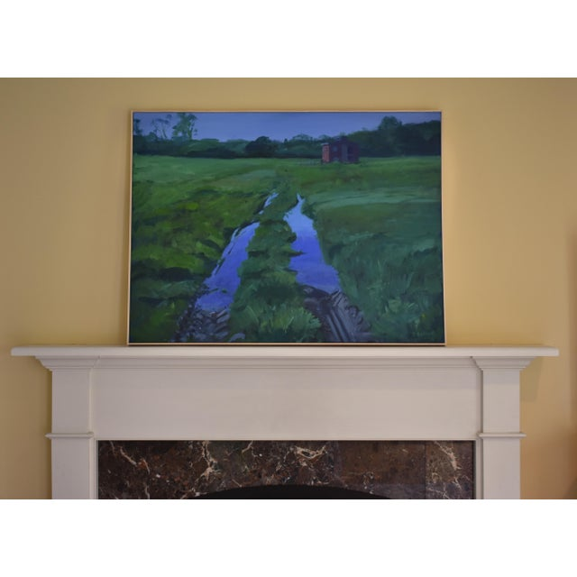 """""""Ruts in the Field to the Chicken Coop"""" Painting For Sale - Image 10 of 12"""