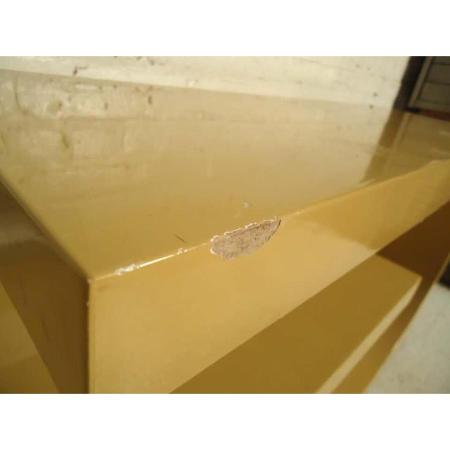 Paint 1960s Mod Style Lacquered Console For Sale - Image 7 of 9