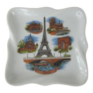 Paris Souvenir Ceramic Catchall