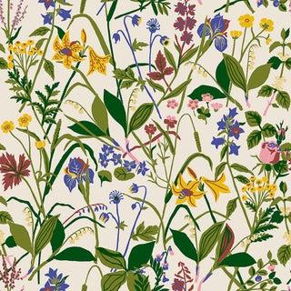 Ros Och Lilja Wallpaper by Borastapeter Wallpaper - Sample For Sale