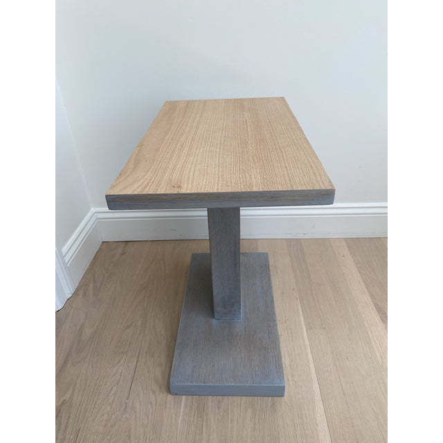 Architectural Modern Side Table For Sale - Image 11 of 12
