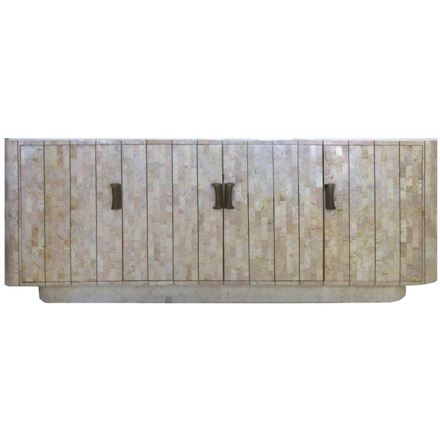 Maitland-Smith Tessellated Stone Credenza For Sale