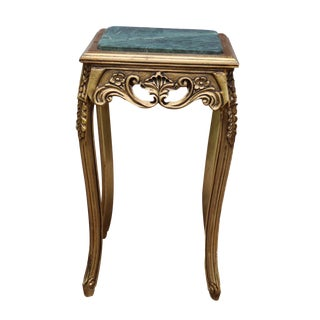 Louis XV End Table, French, Handmade, Antique Vintage Furniture Reproduction , Victorian For Sale