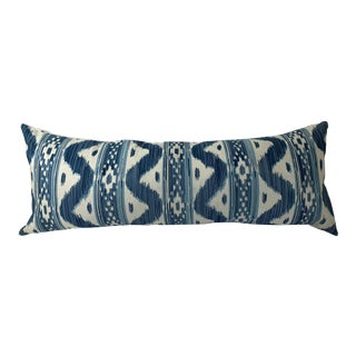 Blue Bali Hai Pillow From Quadrille For Sale