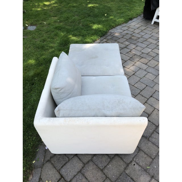 Gray 1990s Mid-Century Modern Ligne Roset Nomade by Didier Gomez Chaise For Sale - Image 8 of 11