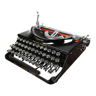 "1933 Imperial ""Good Companion"" Portable Typewriter For Sale"