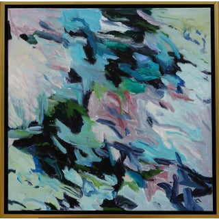 """Laurie MacMillan """"Tween Season"""" Abstract Painting For Sale"""