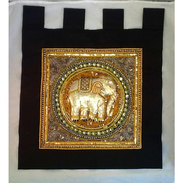 Vintage Elephant Tab Top Wall Hanging - Image 2 of 7