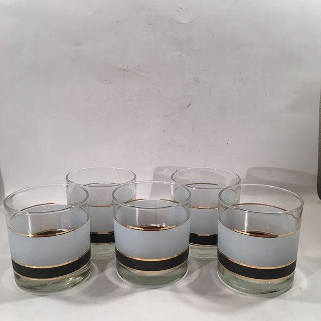 Vintage Libbey Dbl Old Fashion Glasses - Set of 5 - Image 2 of 8