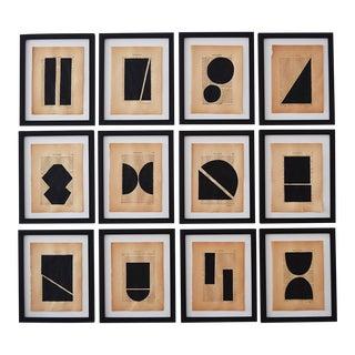 Josh Young Design House - 12 Piece Noir Géométrique Collection For Sale