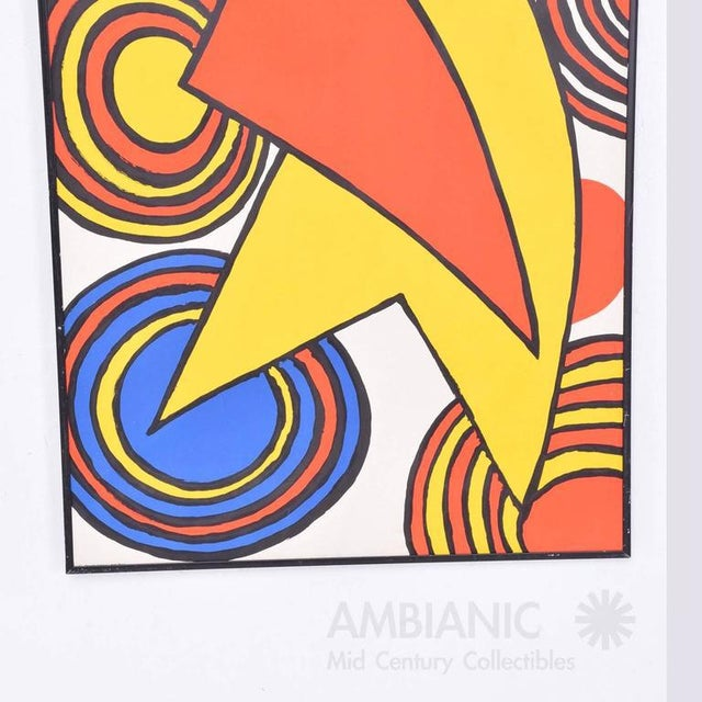 Blue Galerie Maeght Calder Poster For Sale - Image 8 of 9