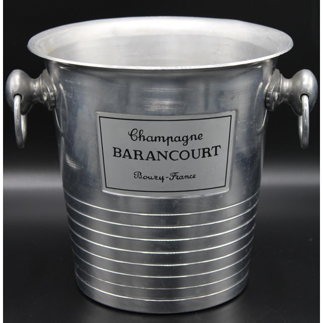 Vintage French Barancourt Champagne Ice Bucket For Sale - Image 13 of 13