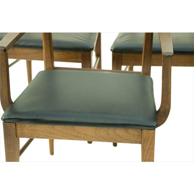 Mid Century Modern Bassett Dining Chairs - S/5 - Image 10 of 10