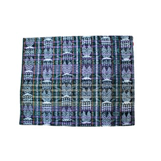 Guatemalan Hand-Woven Textile Placemats - Set of 5 For Sale