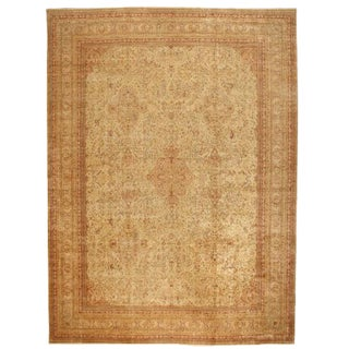 Antique Oversize 19th Century Turkish Sivas Carpet For Sale