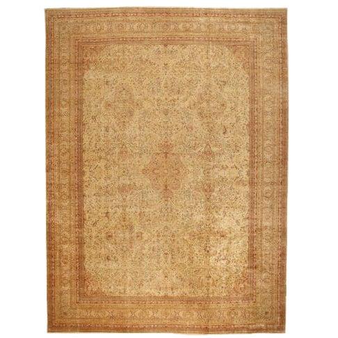 Antique Oversize 19th Century Turkish Sivas Carpet For Sale