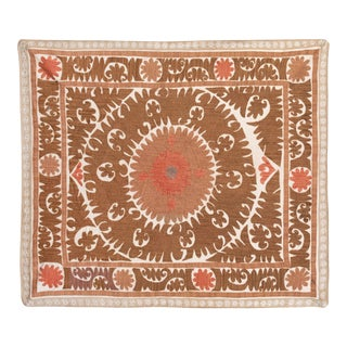 Vintage Suzani Textile From Samarkand For Sale