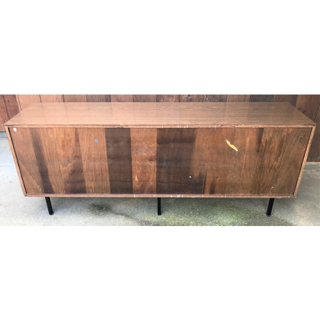 Knoll 1960s Florence Knoll Walnut Sideboard For Sale - Image 4 of 9