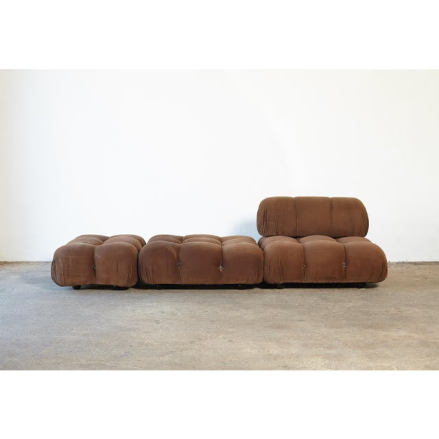 "Mid-Century Modern 1970s Vintage Mario Bellini for B&b Italia ""Camaleonda"" Modular Sofa For Sale - Image 3 of 10"