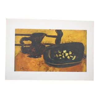 Vintage Mid-Century Braque Lithograph For Sale