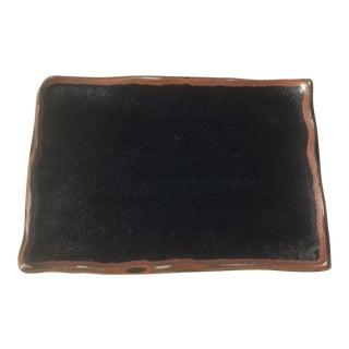 Contemporary Ceramic Rectangular Plate For Sale