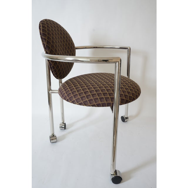 """Brueton Vintage Stanley Jay Friedman for Brueton """"Moon Chair"""" - 4 Are Available For Sale - Image 4 of 9"""
