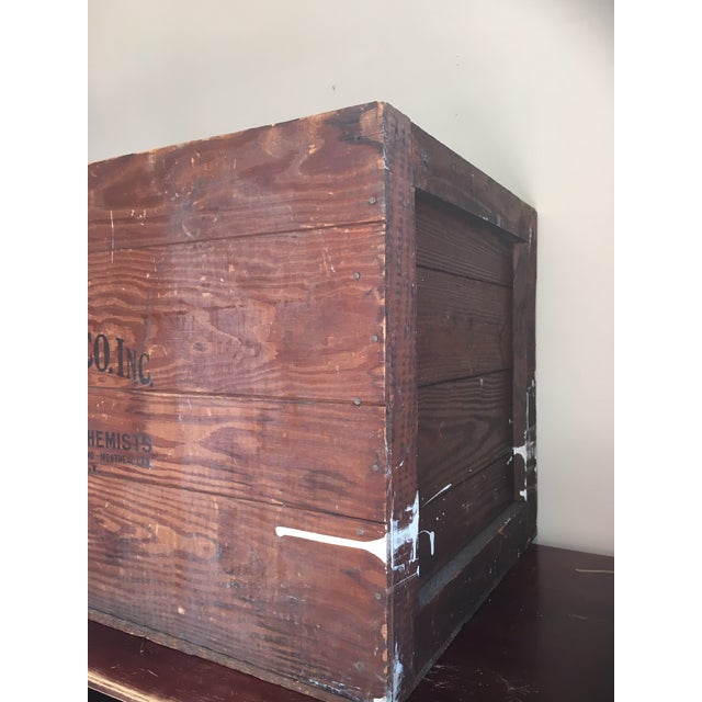 Antique Wooden Merck & Co. Crate - Image 7 of 8
