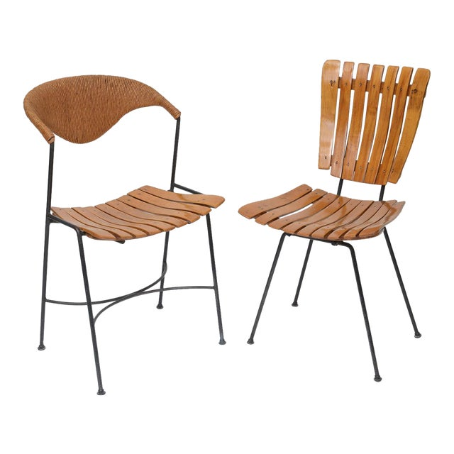 Set of Four Arthur Umanoff Dining Chairs for Raymor For Sale