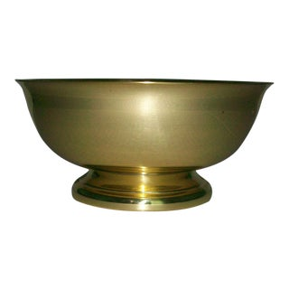 Baldwin Brass Revere Footed Pedstal Bowl