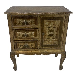 1960s Italian Florentine Chest Of Drawers For Sale