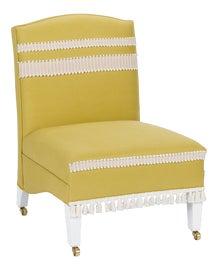 Image of Yellow Slipper Chairs