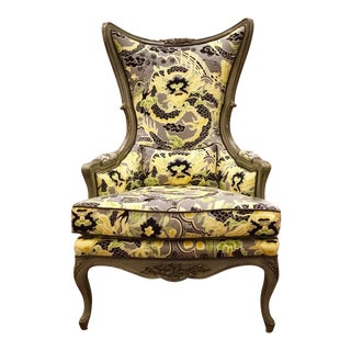 Curry & Co. Astor Chair Dragon Pattern For Sale